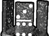 Black Iron Domino Crown (Pet Simulator 1)