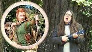 Who The 'Ell Is Tauriel? Hobbit comedy spoof song. Deconstruction of The Desolation of Smaug