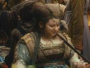 Rebekah Hart as Dwarf Trader