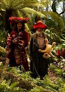 Captain Hook (2003) and Mr. Smee (2003) 001