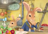 Peter-And-Cotton-Tail-Rabbit-Eating-Lunch