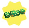 Green Christmas Cracker