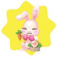 Easter Treats Bunny Stall