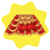 Chinese lion dance top