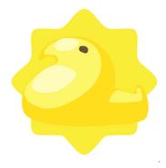 Yellow Marshmallow Chick
