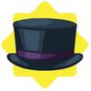 Victorian gentleman top hat