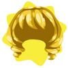 Long princess wig
