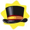 Carnival ringmaster top hat