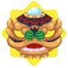 Chinese lion dance mask