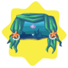 Mermaid kingdom window