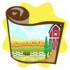Flourishing farm wallpaper