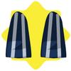 Gangster blue striped pants