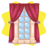 Rapunzel princess window