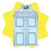 Cinderella castle door