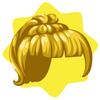 Retro ponytail wig