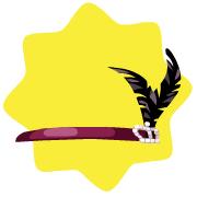 Mon petit cheri charleston headband