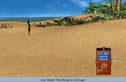 The south seas island as it appears in Petz 4