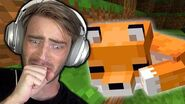 I tame a Fox in Minecraft (very cute) - Part 27