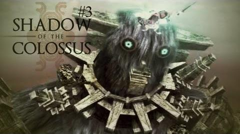 """BEST GAME EVER? - Shadow Of The Colossus - 3rd Colossus (Earth Knight) """"Gaius"""""""