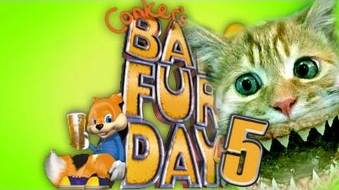 CATFISHES... LITERALLY - Conker's Bad Fur Day (5)