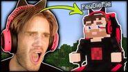 I found a PewDiePie Boss in Minecraft! (Real) - Part 26