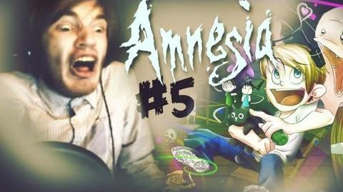 BROOM TRIED TO KILL ME! - Amnesia Custom Story - Gary Dark Secrets - Part 5