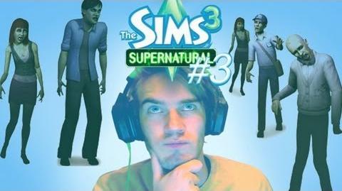 BROFAMILY HAS GATHERED! - Sims 3 Supernatural (Expansion Pack) - Lets Play - Part 3