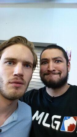 PewDiePie and Nova together