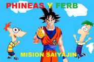 PHINEAS Y FERB MISION SAIYAJIN POSTER 1