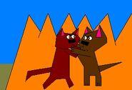 Wolves fighting for TDR