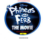 Phineas and ferb- back to the second dimension Poster