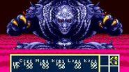 Phantasy Star 3 fight with Dark Force