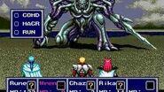 Phantasy Star IV - Boss 17 Dark Force, final encounter
