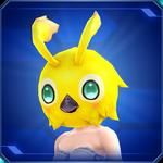 Pso2 yellowrappy head