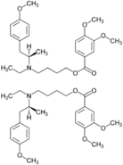 Mebeverine-Enantiomer Strukture