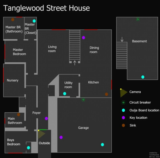 Tangle Wood Street House Map 1.1