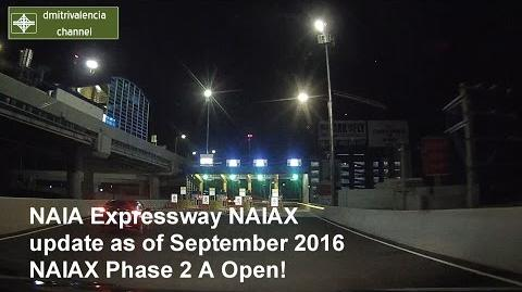 NAIA Expressway (Phase II A open) update as of September 2016