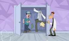 Doofenshmirtz' wardrobe