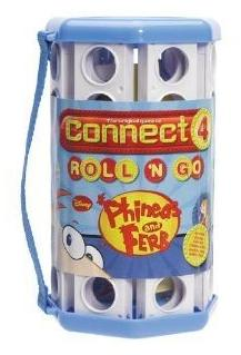 Phineas and Ferb: Connect Four, Roll 'n Go