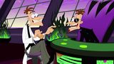 Cuts back to the Original close up of Two Doofenshmirtzs during a musical number