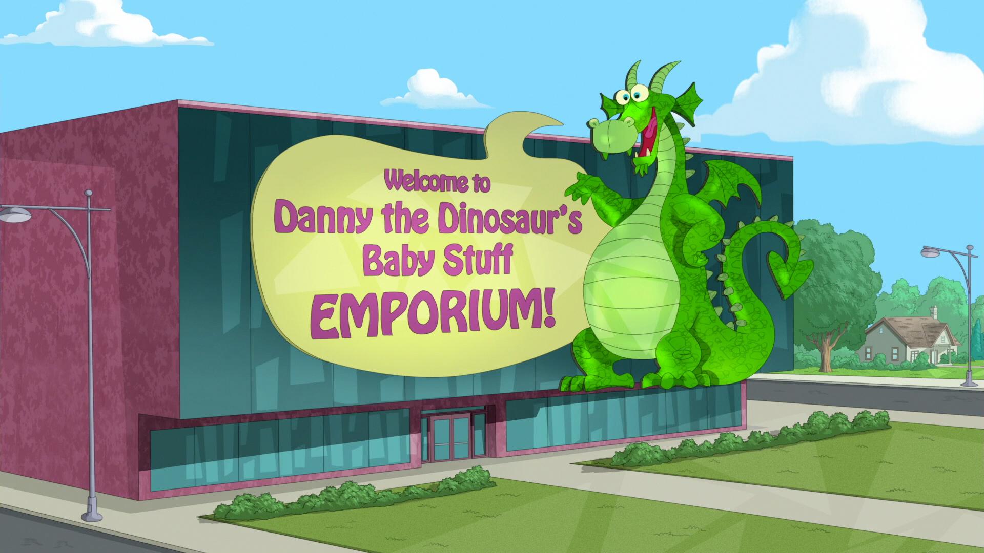 Danny the Dinosaur's Baby Stuff Emporium!