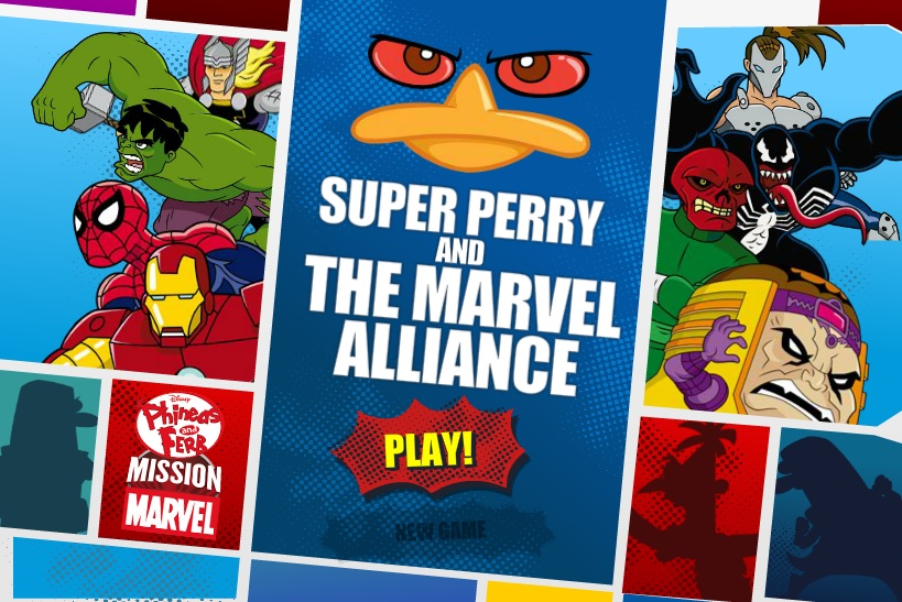 Phineas & Ferb - Super Perry & The Marvel Alliance