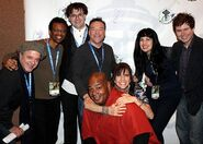 Jim Cummings, Phil LaMarr, Rikki Simons, Richard Horvitz, Kevin Michael Richardson, Jennifer Hale, Grey DeLisle, & Quinton Flynn - ECCC 2013