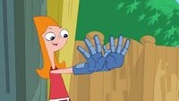 311b - Candace Puts on Gloves