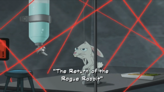 """Click here to view more images from """"The Return of the Rogue Rabbit""""."""