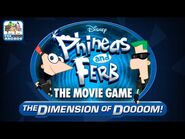 Phineas And Ferb- The Movie Game - The Dimension of Doooom! (Disney Games)