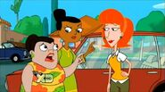 Linda with Buford and Baljeet's moms