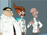 Dr. Bloodpudding, Unnamed fat scientece and Rodney
