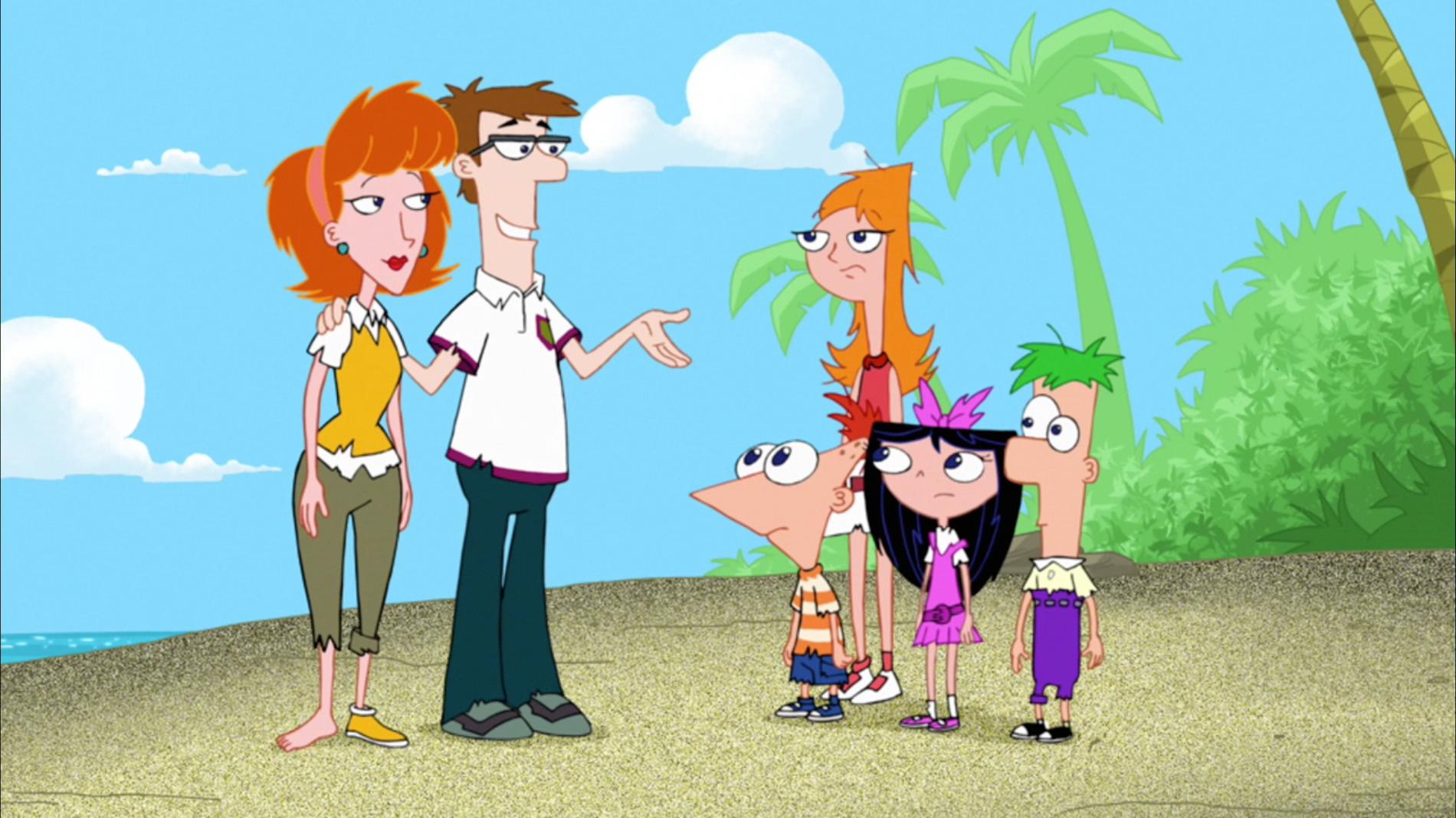Phineas nackt und aus vanessa ferb Dr. Heinz