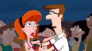 Linda and Lawrence startled